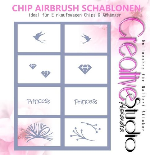 Chip Schablone Mix  :03