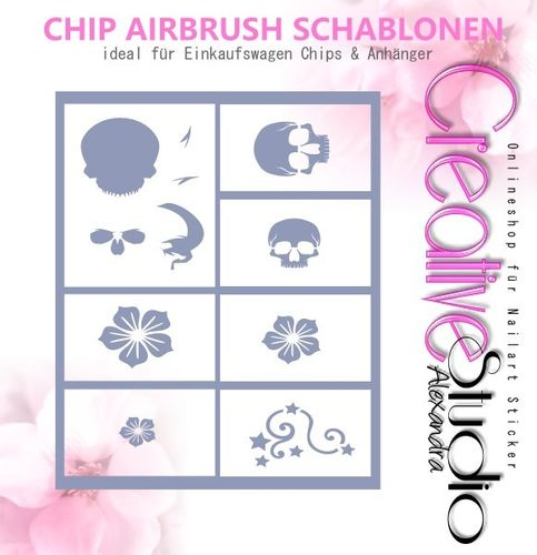 Chip Schablone Mix  :24