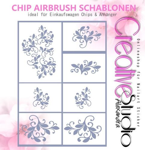 Chip Schablone Mix  :36