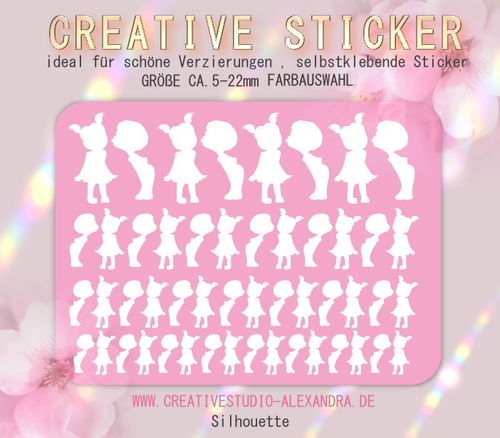 CREATIVE STICKER - Silhouette 01