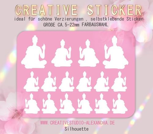 CREATIVE STICKER - Silhouette 04