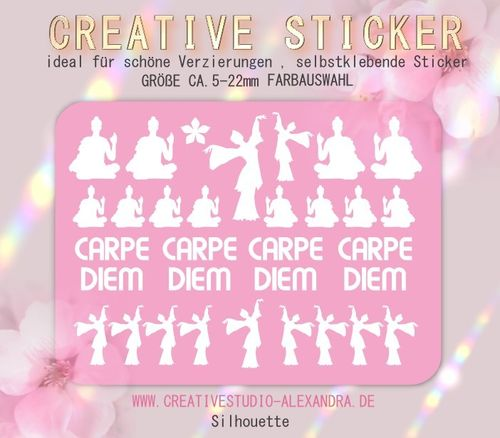 CREATIVE STICKER - Silhouette 05