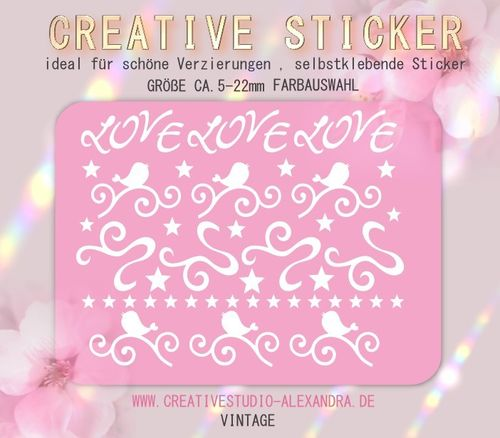 CREATIVE STICKER - Vintage 03
