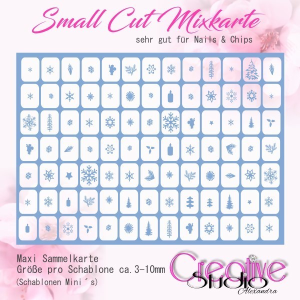 Airbrush Small Cut Mixkarte :07